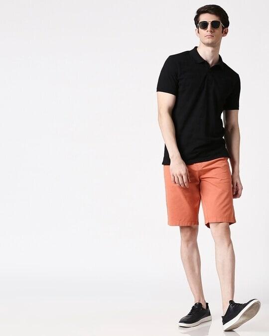 Shop Orange Lime Men's Shorts