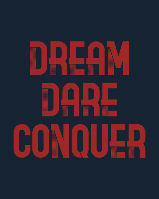 Shop Red Conqueror Half Sleeve T-Shirt