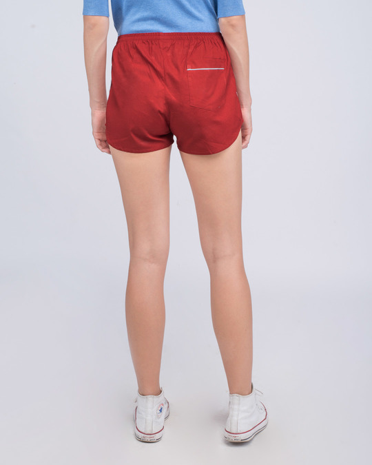 Shop Red Passion Plain Boxer-Design
