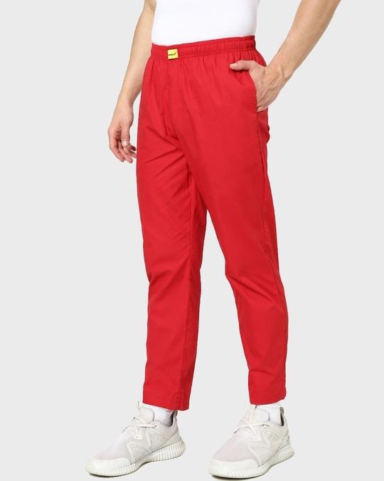Shop Red Passion Plain Pyjama-Back