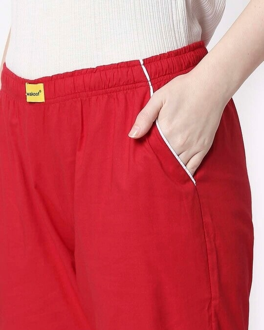 Shop Red Passion Plain Pyjama