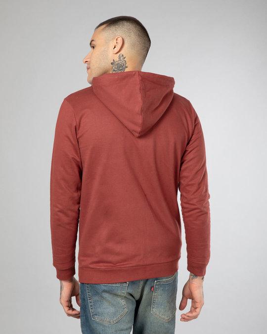 Shop Red Pear Fleece Zipper Hoodies-Design
