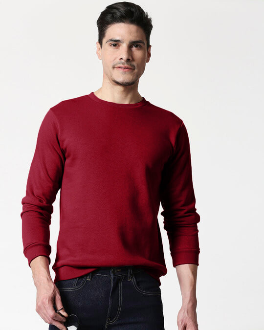 Shop Red Plum Fleece Sweater