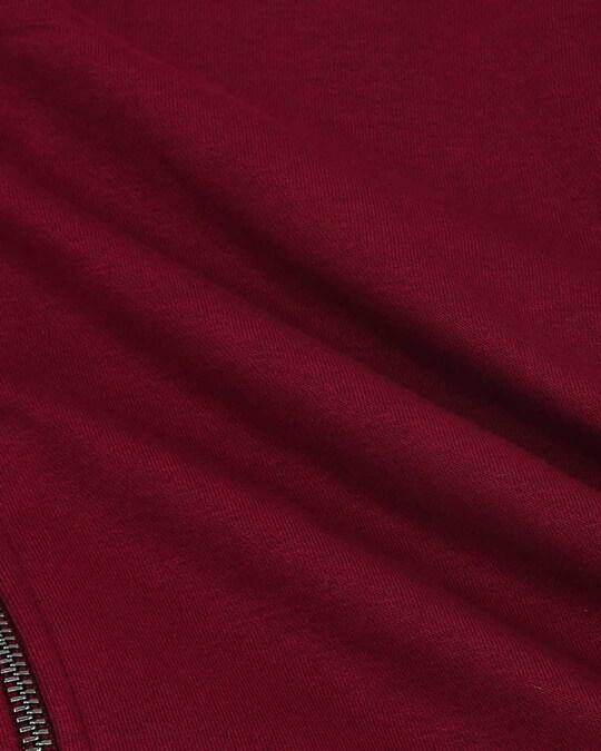 Shop Red Plum Zipper Bomber Jacket