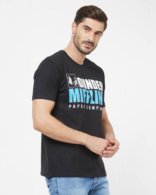 Shop Dunder Mifflin Paper Company Cotton Half Sleeves T Shirt-Back