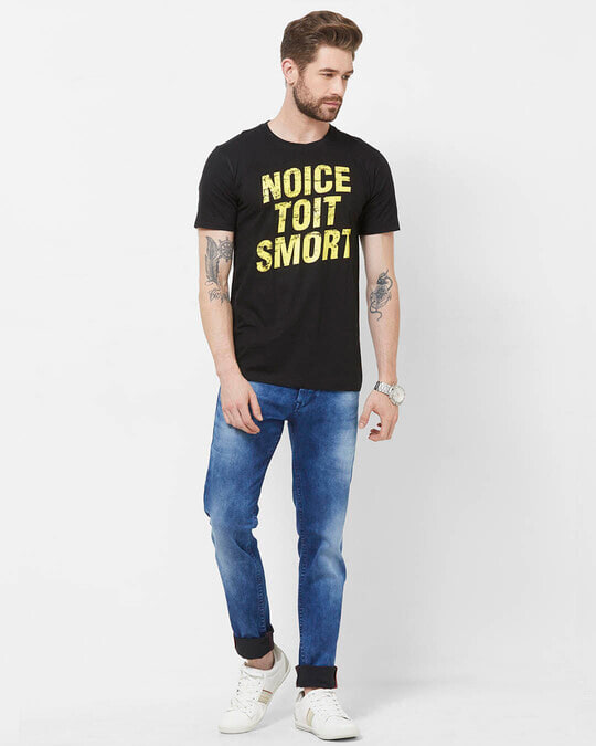 Shop Noice Toit Smort Cotton Half Sleeves T Shirt-Full