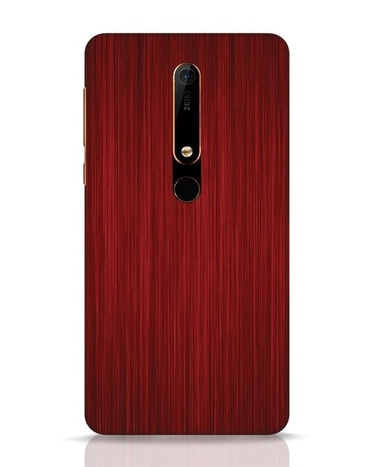 Shop Redwood Nokia 6.1 Mobile Cover-Front