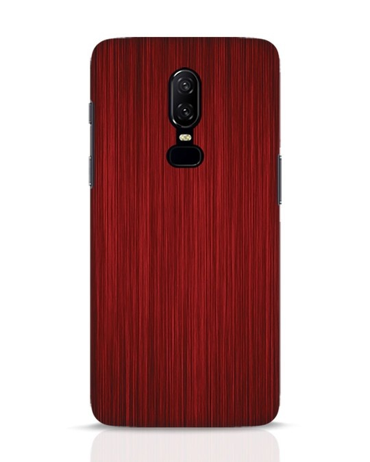 Shop Redwood OnePlus 6 Mobile Cover-Front