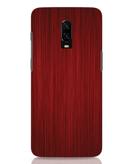 Shop Redwood OnePlus 6T Mobile Cover-Front