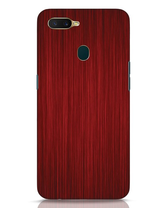 Shop Redwood Oppo A7 Mobile Cover-Front