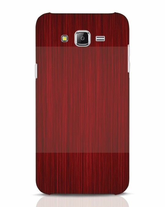 Shop Redwood Samsung Galaxy J7 Mobile Cover-Front