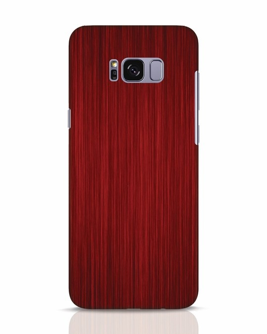 Shop Redwood Samsung Galaxy S8 Mobile Cover-Front