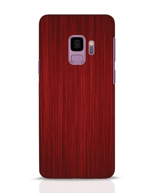 Shop Redwood Samsung Galaxy S9 Mobile Cover-Front