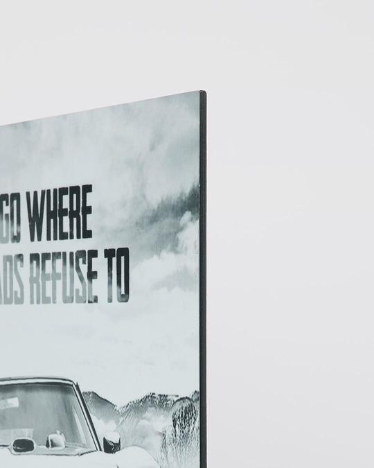 Shop Refusing Roads Designer Wall Frame-Full
