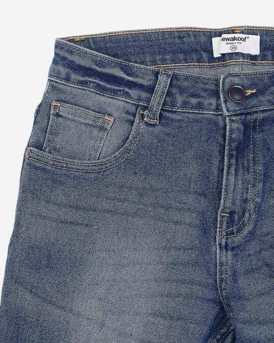 Shop Regal Blue Mid Rise Stretchable Women's Jeans