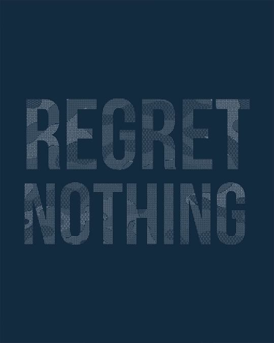 Shop Regret Nothing Boyfriend T-Shirt