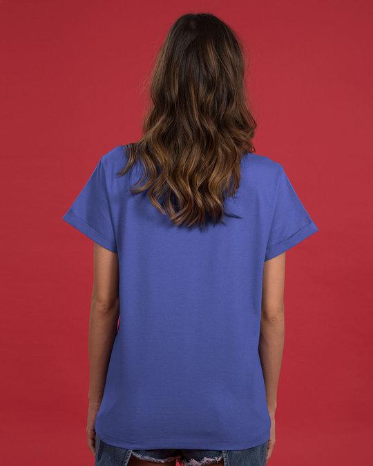 Shop Regrets-none Boyfriend T-Shirt-Back