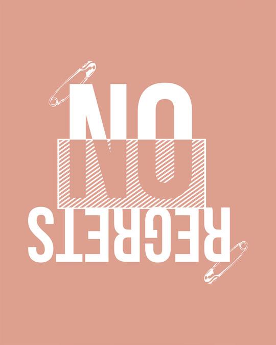 Shop Regrets-none Scoop Neck Full Sleeve T-Shirt