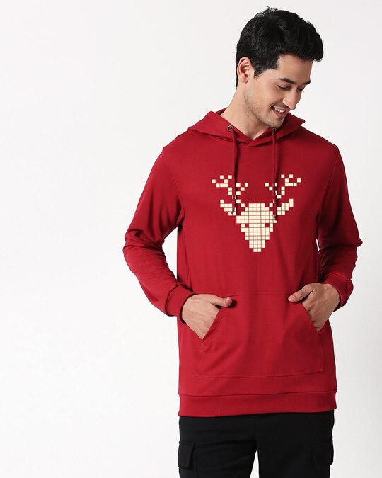 Shop ReindeerHoodie-Back