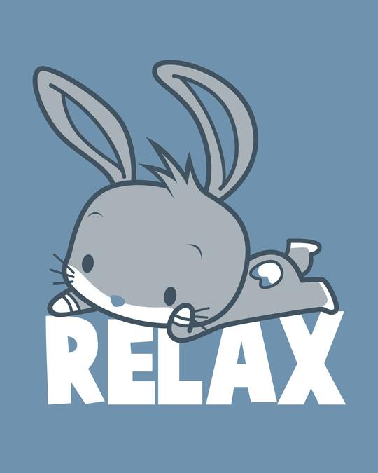 Shop Relax Chibi Bunny Scoop Neck Full Sleeve T-Shirt (LTL)-Full
