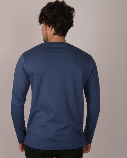 Shop Relax Wave Full Sleeve T-Shirt-Back
