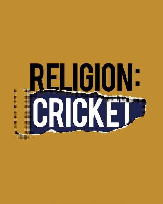 Shop Religion Is Cricket Full Sleeve T-Shirt