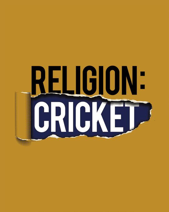 Shop Religion Is Cricket Sweatshirt-Full