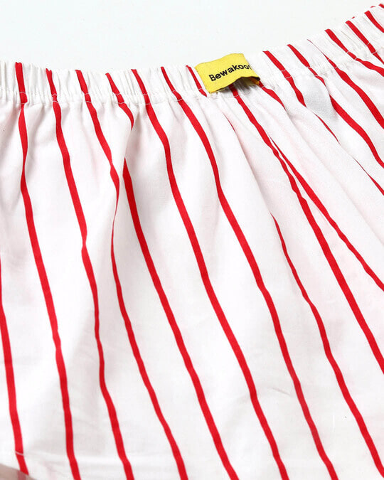 Shop Rereo Red Stripe Boxer