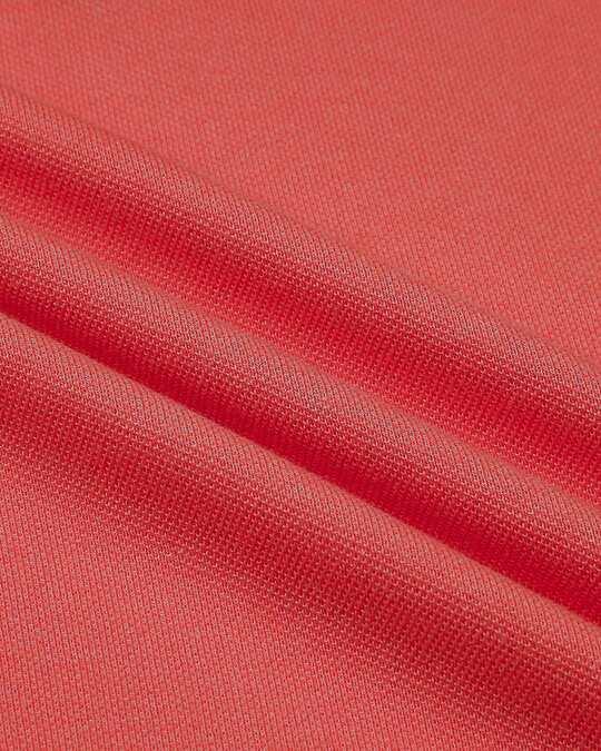 Shop Retro Red Polo T-Shirt