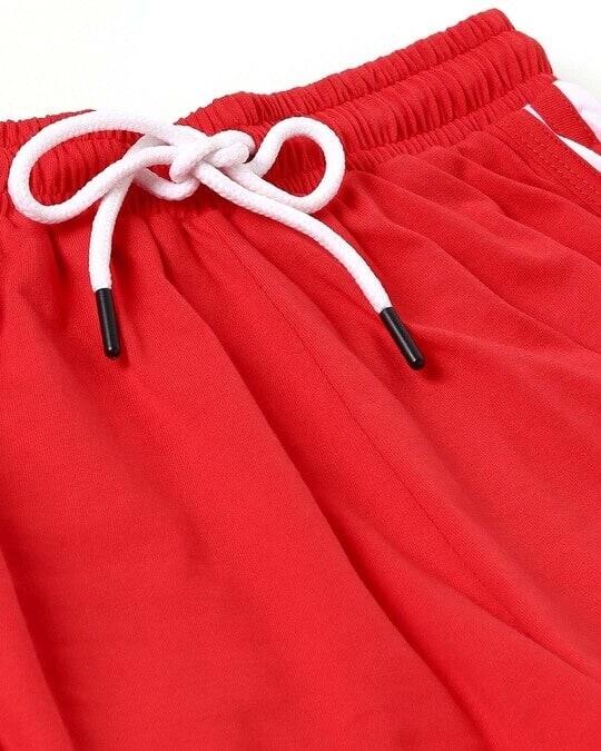 Shop Retro Red Shorts
