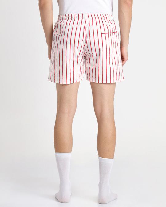 Shop Retro Red Stripe Boxer-Design