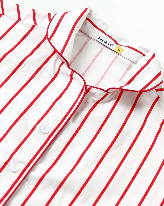 Shop Retro Red Stripe Shirt