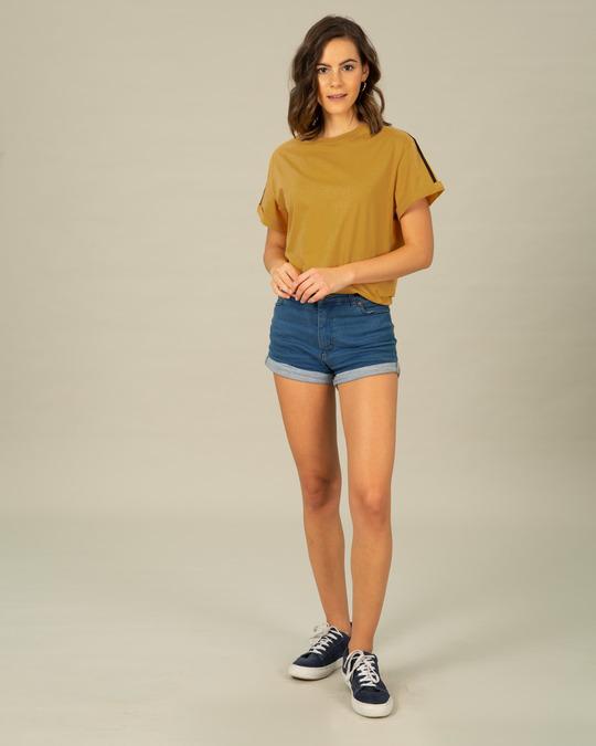 Shop Retro Stripes Sports Trim T-Shirt