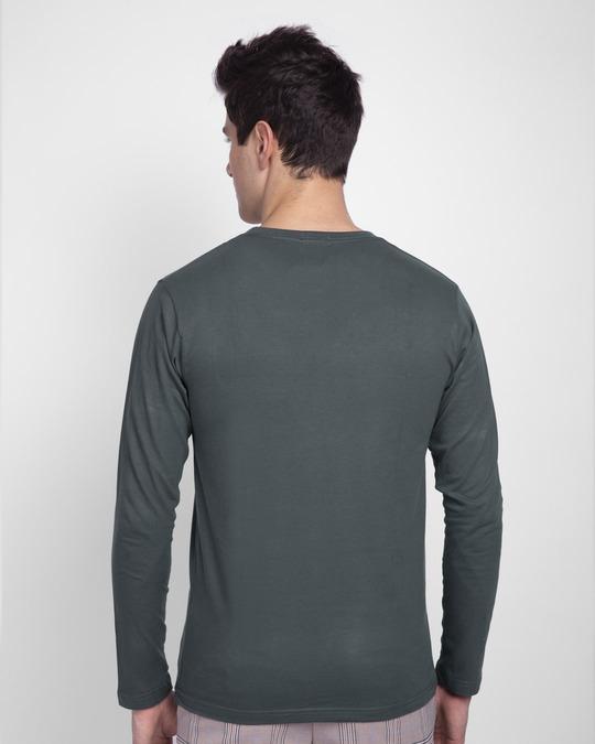 Shop Revolution! Full Sleeve T-Shirt-Back