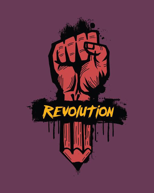Shop Revolution! Half Sleeve T-Shirt-Full
