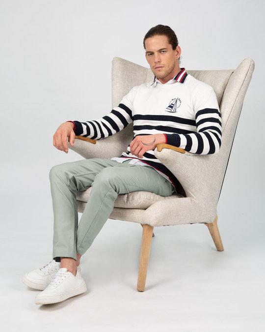 Shop Rhino Grey Pants-Back