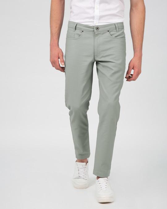 Shop Rhino Grey Pants-Design