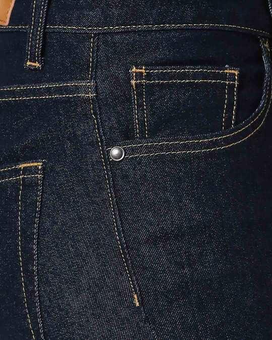 Shop Ribbon Blue Mid Rise Stretchable Women's Jeans