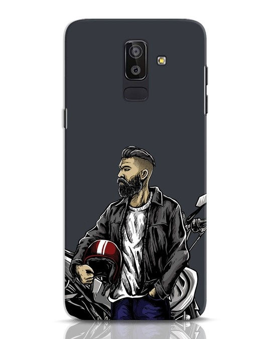 Shop Rider Dude Samsung Galaxy J8 Mobile Cover-Front