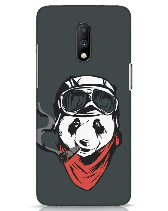 Shop Rider Panda OnePlus 7 Mobile Cover-Front
