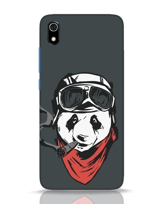 Shop Rider Panda Xiaomi Redmi 7A Mobile Cover-Front