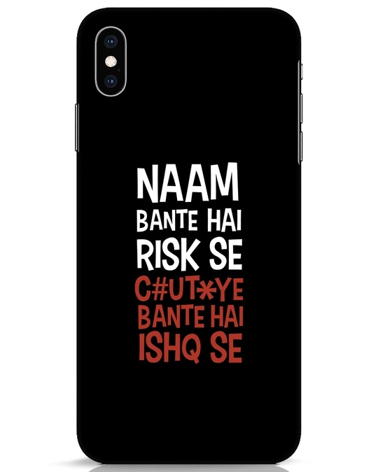 Shop Risky Ishq iPhone XS Max Mobile Cover-Front