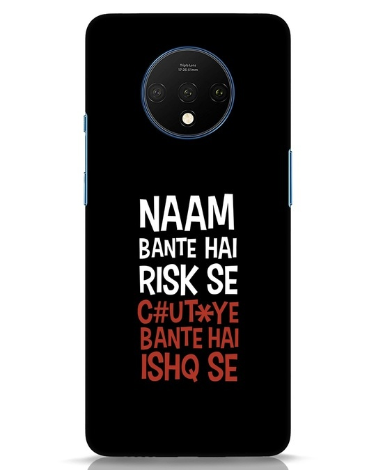 Shop Risky Ishq OnePlus 7T Mobile Cover-Front