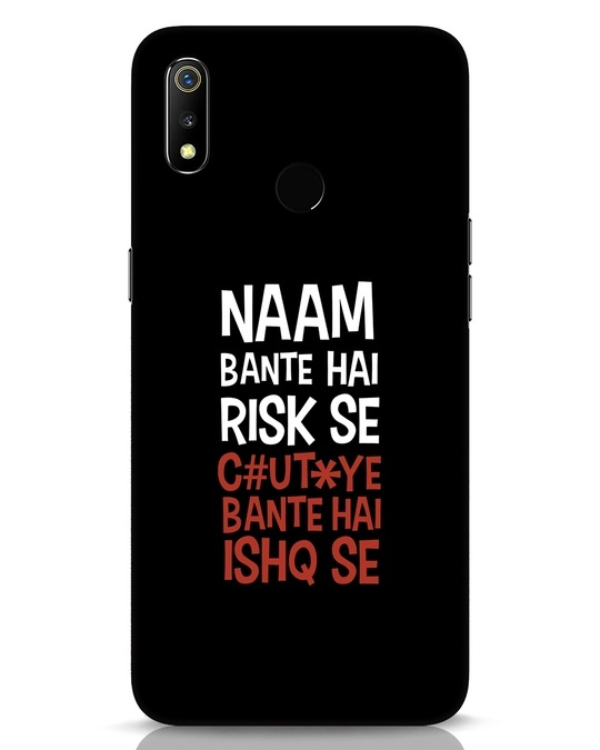 Shop Risky Ishq Realme 3 Mobile Cover-Front