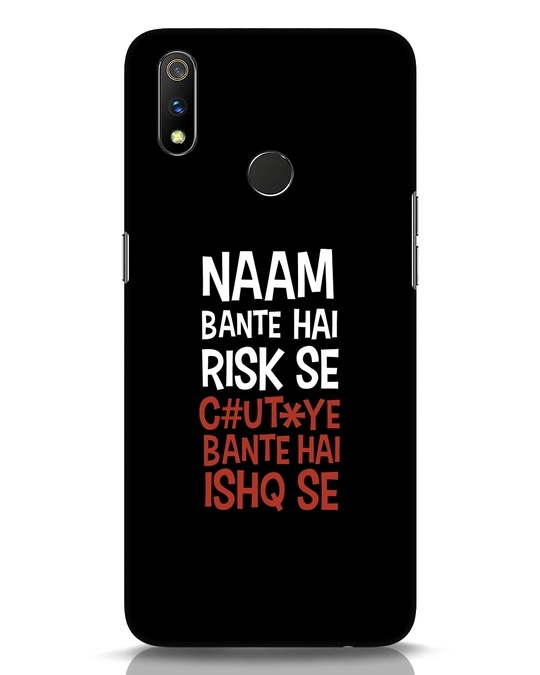 Shop Risky Ishq Realme 3 Pro Mobile Cover-Front