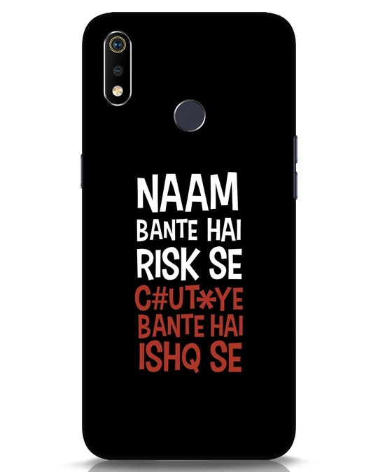 Shop Risky Ishq Realme 3i Mobile Cover-Front