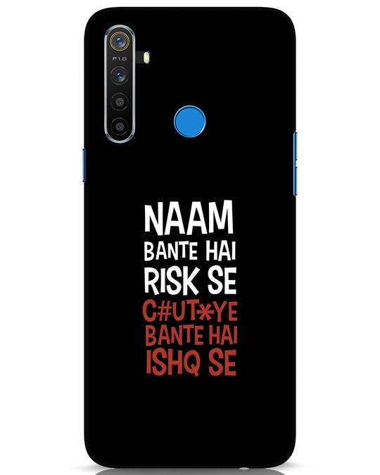 Shop Risky Ishq Realme 5 Mobile Cover-Front