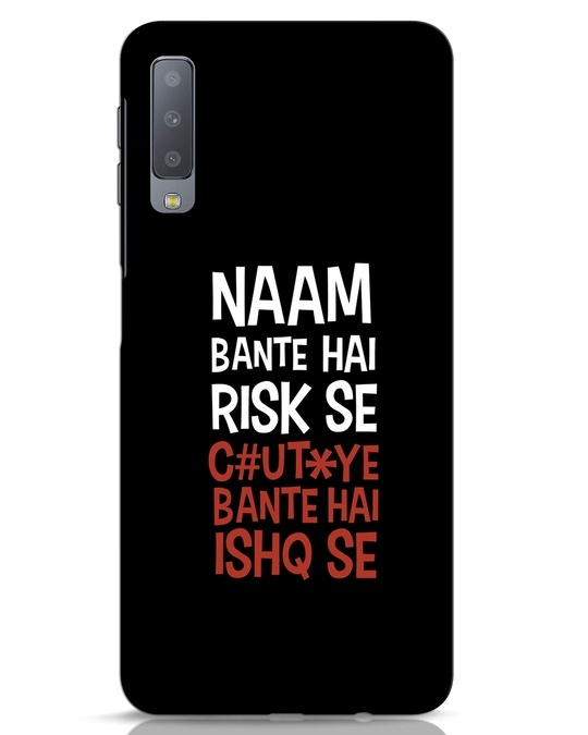 Shop Risky Ishq Samsung Galaxy A7 Mobile Cover-Front