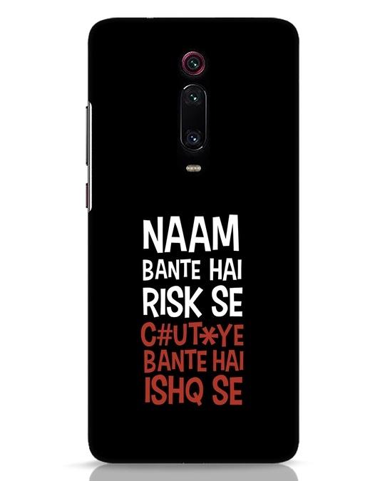 Shop Risky Ishq Xiaomi Redmi K20 Mobile Cover-Front