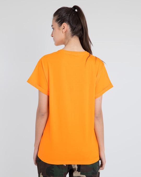 Shop Road Cone Perspective Boyfriend T-Shirt-Design